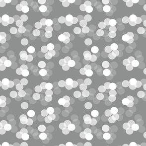 Sparkles neutral grey
