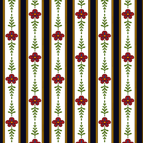 Colonial Stripes fabric by jadegordon on Spoonflower - custom fabric