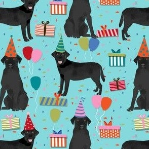 black lab birthday party dog breed labrador retriever blue