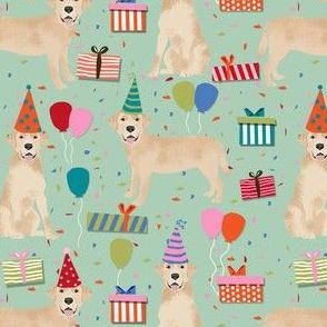 yellow lab birthday party dog breed labrador retriever mint