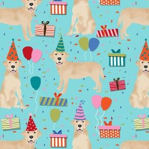 yellow lab birthday party dog breed labrador retriever blue