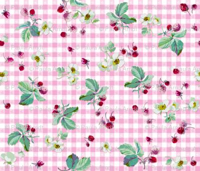 Strawberry Picnic Tartan sorbet