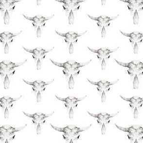 Geometric Monocromatic Skull