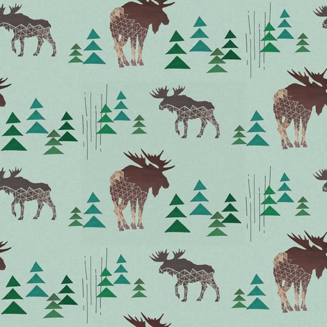 Moose_and_trees_linen_shop_preview