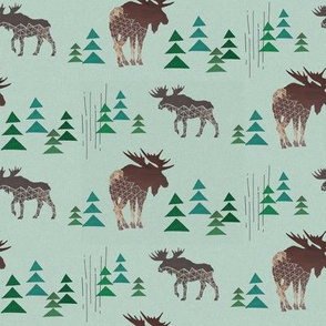 Geometric Moose and Trees