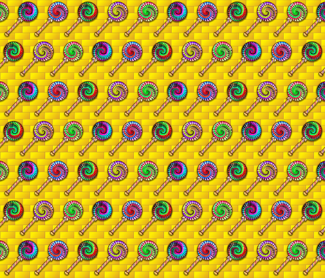 We Represent the Lollipop Guild fabric by just_meewowy_design on Spoonflower - custom fabric