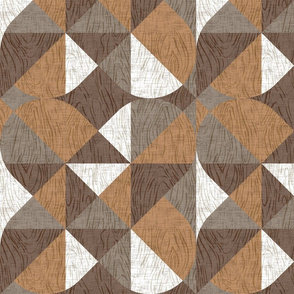 Woodgrain Geometric {Light}