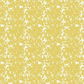 Frida Yellow Wild Leaf