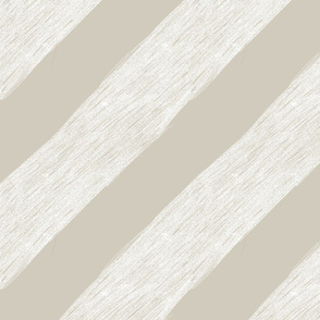 Diagonal Big Stripes Taupe