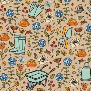 Gardening-Tan