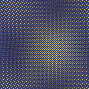 Navily Geometric Yellow on Navy