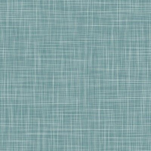 Solid Linen - Teal