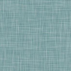 Solid Linen - Teal