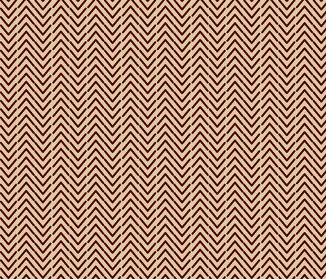 Herringbone-vertical-tan fabric by kae50 on Spoonflower - custom fabric