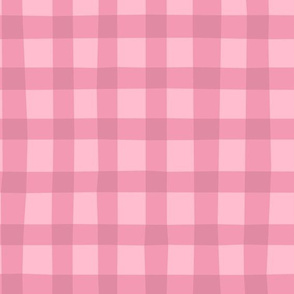 Checkered pink plaid vichy by unPATO