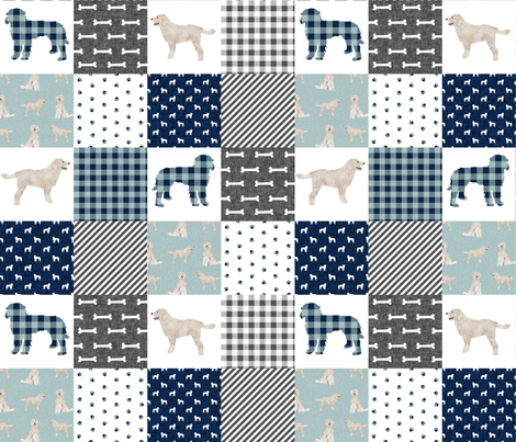 doodle pet quilt b cheater quilts wholecloth dog fabric fabric by petfriendly on Spoonflower - custom fabric