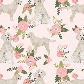doodle pet quilt d coordinate floral dog fabric