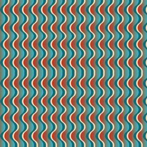 Art deco waves 25