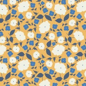 Nanny's Flowers - White