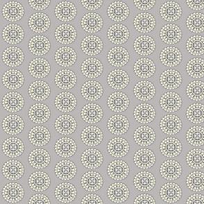 Grey farmhouse mandala