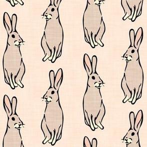 peach bunnies