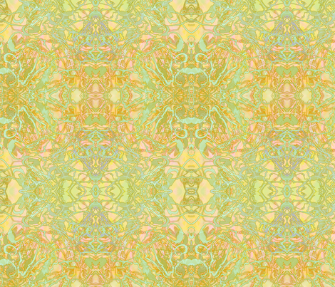 Kaleid Summer Sun Smaller fabric by pissykrissy on Spoonflower - custom fabric
