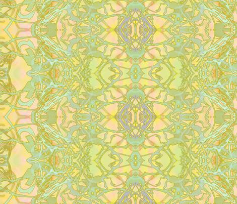 Kaleid Summer HotSun Stripe fabric by pissykrissy on Spoonflower - custom fabric