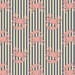 crab on stripe variation 2
