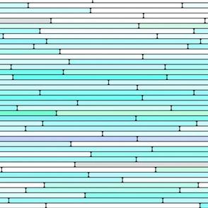 Sky Blue Random Line Sections