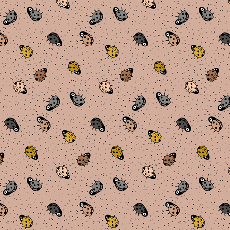 Ladybugs  fabric by gomboc on Spoonflower - custom fabric