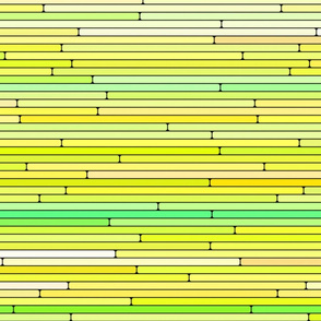 Lime Yellow Random Line Sections