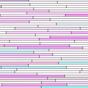 Light Pink Random Line Sections