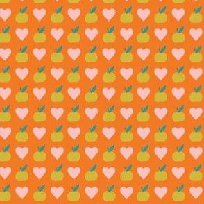 Garden love orange