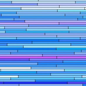 Blue Purple Random Lines