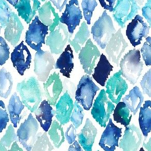 Watercolor Diamonds