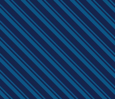 Necktie Stripe in Blue fabric by 2birdstone on Spoonflower - custom fabric