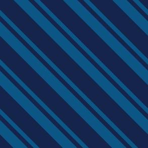 Necktie Stripe in Blue