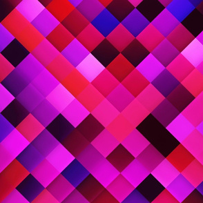 Purple Red Lilac Bright Squares