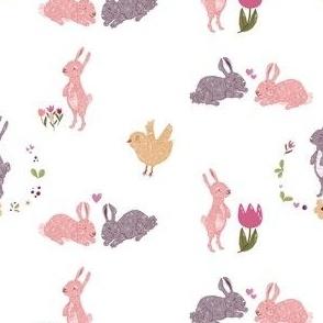 Bunnies and Birdy