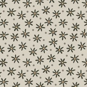 Daisy Meadow (Taupe)