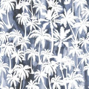 Maui Palm 2  grey wash