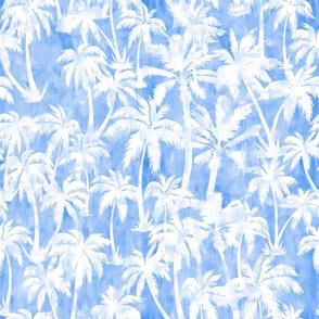 Maui Palm 2 Light Blue