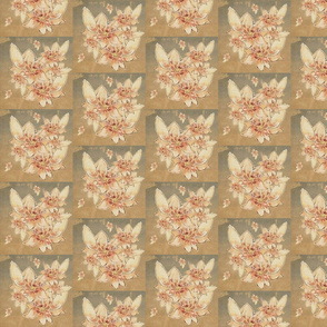 Vintage Pressed Blooms