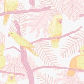 Birdies - pastels