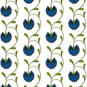 Colonial Blue Drop Flower