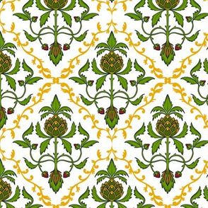 Colonial Damask 1