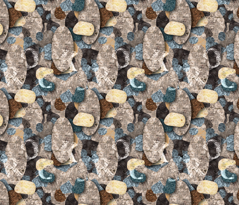 Geeeeologeee fabric by the_naturalists_daughter on Spoonflower - custom fabric