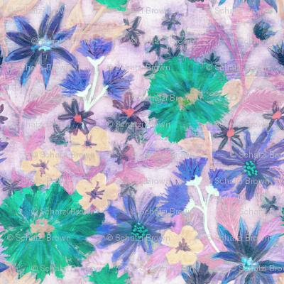 Elizabeth floral pastel
