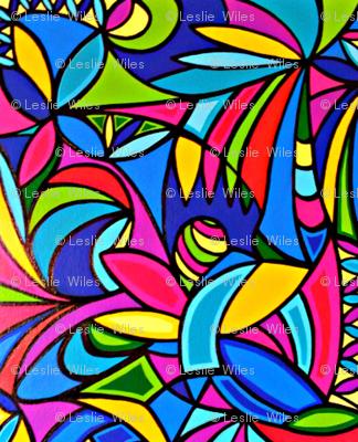 ARTWORK Abstract paridisio