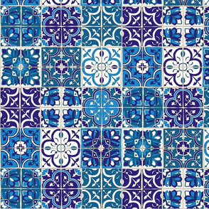 Tile in Blues
